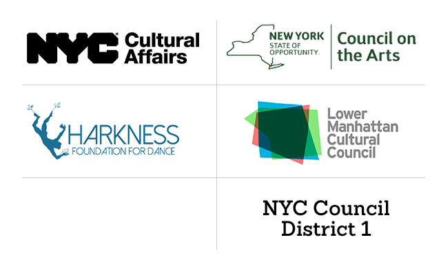 NYC Dept of Cultural Affairs, NY State Council on the Arts, NYC Council District 1, Lower Manhattan Cultural Council