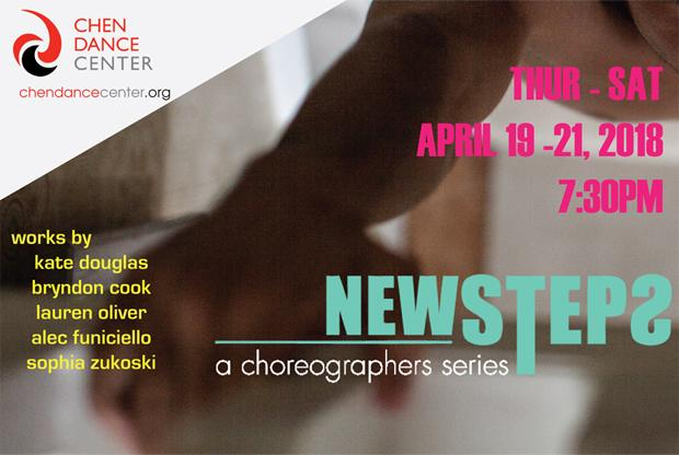 Chen Dance Center newsteps: a choreographers Series April 19-21, photo: Stephanie Cousillat